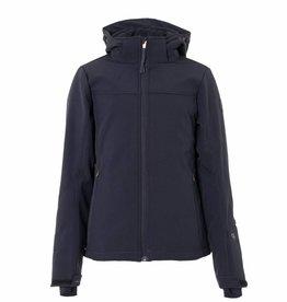 BRUNOTTI ARIESTA Softshell ski-jas Girls Black mt 152