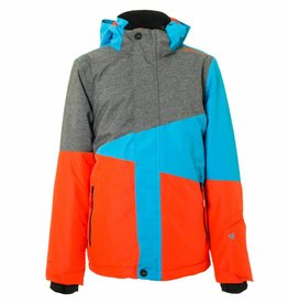 BRUNOTTI IDAHO Ski-jas Boys Dark Grey Melee 152