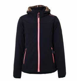 BRUNOTTI NAOSY Softshell ski-jas Girls Black mt 152