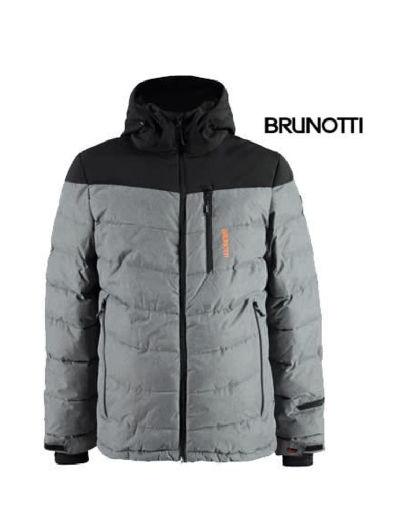 Winterjas Heren S.Brunotti Mapello Ski Jas Heren Soir Zwart Mt S Crossdock