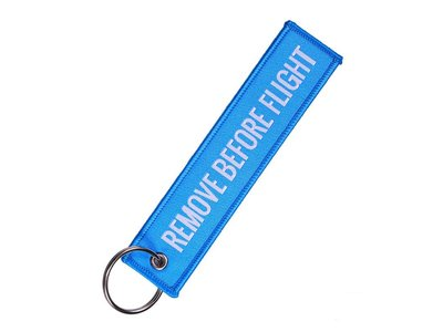 Remove Before Flight Tag Lichtblauw