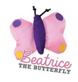BECO PETS Beco  Plush  Wand Toy - Butterfly