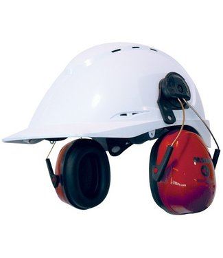 M-Safe M-Safe gehoorkap Sonora 2 met helmbevestiging, rood