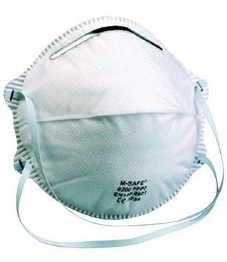 M-Safe M-Safe 6200 Stofmaker FFP2, zonder uitademventiel