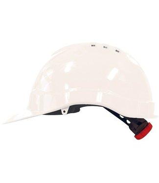 M-Safe M-Safe MH6010 Veiligheidshelm met draaiknop wit