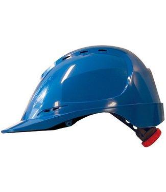 M-Safe M-Safe ABS veiligheidshelm MH6020 draaiknop blauw
