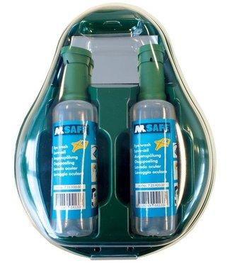 M-Safe M-Safe wandhouder met 2x oogspoelfles 500ml
