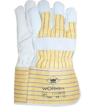 Nerflederen Werkhandschoenen met palmversterking