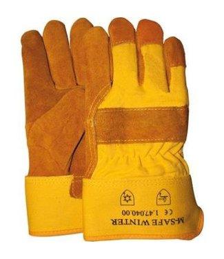 M-Safe M-Safe 47-040 Dakdekkers Werkhandschoenen gevoerd
