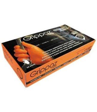 M-Safe 246 ORANJE Nitril Grippaz Disposable Handschoenen