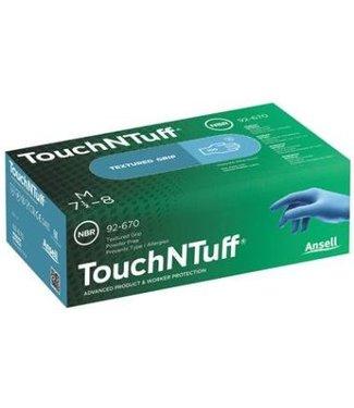Ansell 92-670 TouchNTuff Disposable Handschoenen
