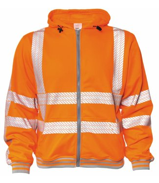 M-Wear M-Wear 6230 hooded sweater RWS Oranje