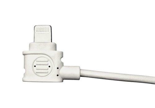 Parotec-IT Ladekabel fuer iPad USB - lightning connector mit platzsparende Winkelverbindung