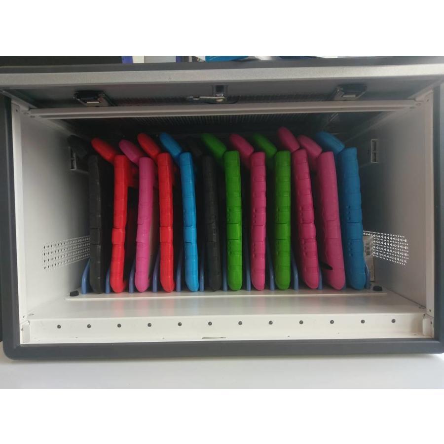 D12 MultiCharger modularer Aufbewahrungs-, Lade- und Synchronisationsschrank für 12 iPads oder andere Tablets-3