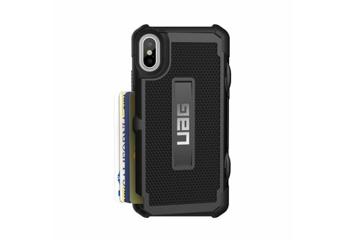 UAG Handyhuelle Trooper fuer iPhone X schwarz
