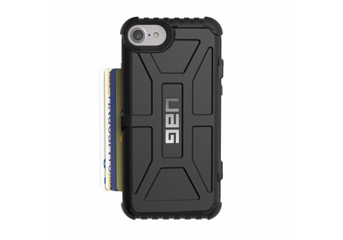UAG Handyhuelle Trooper card fuer iPhone 8 plus/ iPhone 7 plus/ iPhone 6 plus schwarz