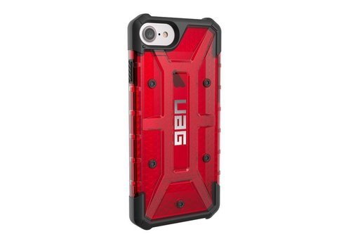 UAG Handyhuelle Magma clear plasma fuer iPhone 8/ iPhone 7/ iPhone 6S rot