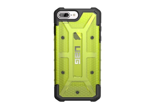 UAG Handyhuelle Plasma fuer iPhone 8/7/6S plus citron grun clear