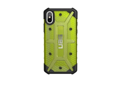 UAG Handyhuelle Plasma fuer iPhone X citround grun clear