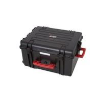 Tabletkoffer für lagern, transportieren und synchronisieren von 16 Tablets, Direkte Verbindung von Tablet zum Kabelstecker, Tablet in Schutzhülle