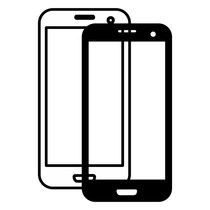 Huawei P8 Lite glas / touchscreen en LCD beeldscherm
