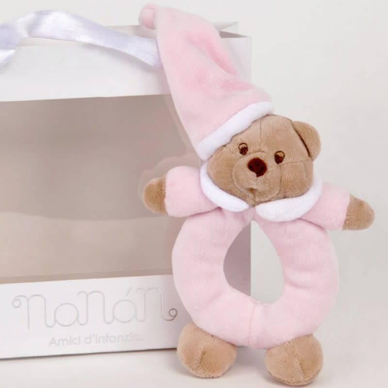 Nanan Nanan Soft Rattle -Girls