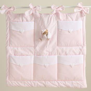 Nanan Nanan Pink Cot Storage
