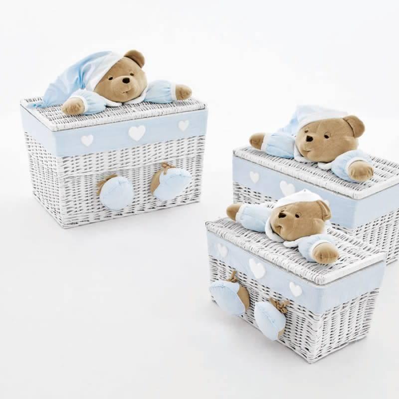 Nanan Nanan Small Blue Toy Box
