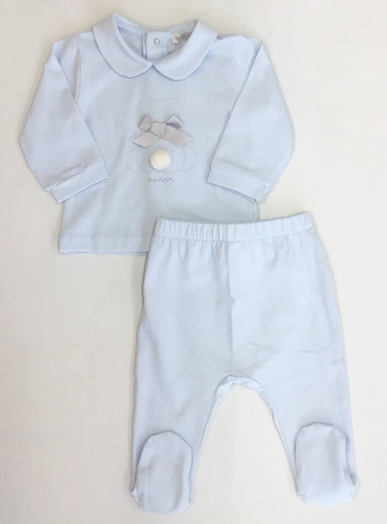 Nanan Nanan Blue Bunny Rabbit Two Piece
