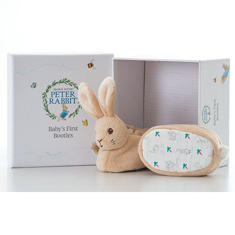 Peter Rabbit Rattle First Slippers