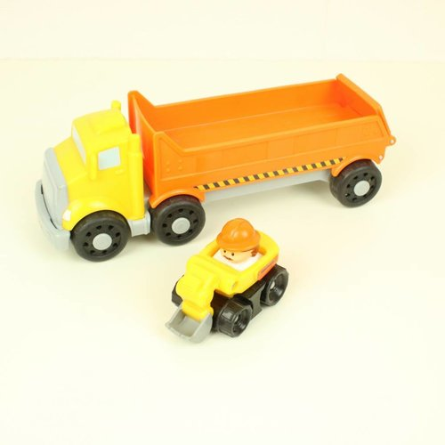LITTLE PEOPLE VRACHTAUTO   FISHER PRICE