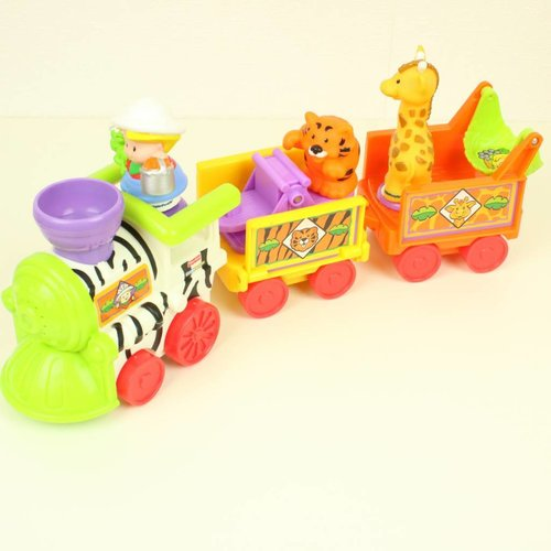 LITTLE PEOPLE MUSICAL ZOO TRAIN   FISHER PRICE