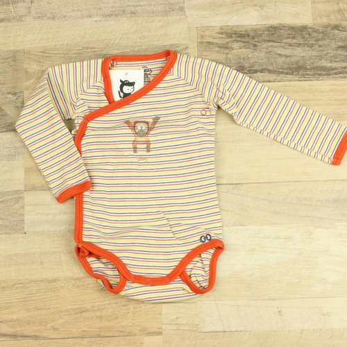 GESTREEPTE BODY  | LITTLE WOODY | MAAT 68