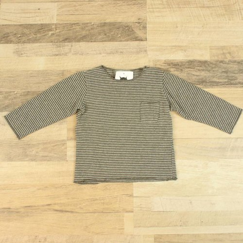 GESTREEPT T-SHIRTJE | 1+IN THE FAMILY | MAAT 12M