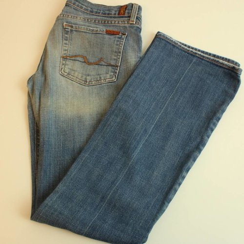 JEANSBROEK FLARED LEG | 7 FOR ALL MANKIND | MAAT 28/32