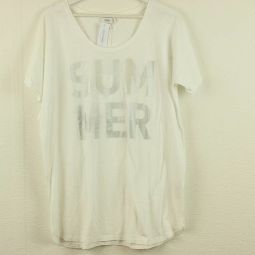 WITTE T-SHIRT SUMMER | CLOSED | MAAT S