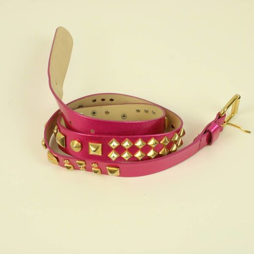 FUSHIA RIEM MET STUDS | MATTHEW WILLIAMSON FOR H&M