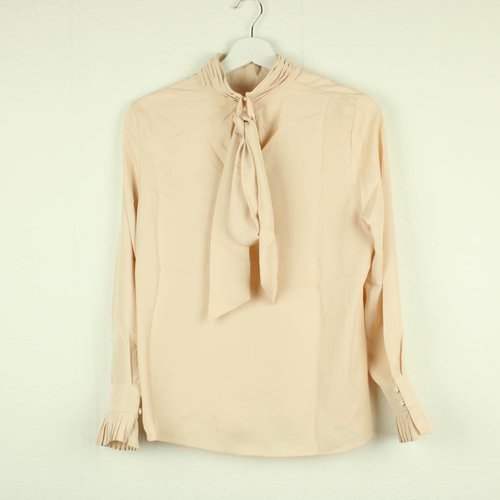 BEIGE BLOUSE | LILY WHITE | MAAT M/L