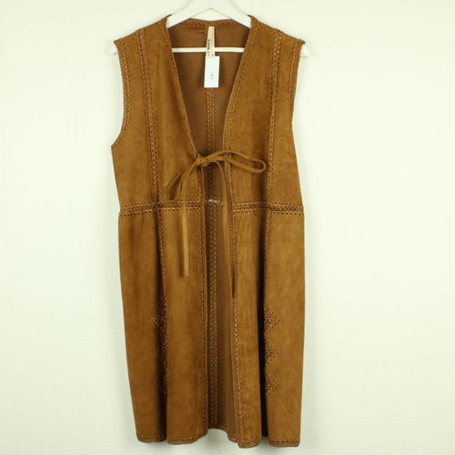 CAMEL GILET | LILY WHITE | MAAT S/M