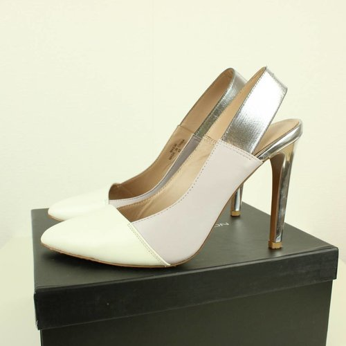 PUMPS MET SILVER | FRENCH CONNECTION | MAAT 40
