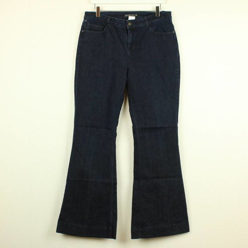 DONKERE JEANS - FLARED LEG   BLUE 73   MAAT 42