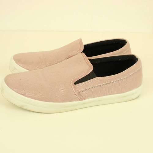 ROZE METALIC LOAFERS | ZARA | MAAT 39