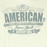 T-SHIRT MET OPDRUK   AMERICAN OUTFITTERS   MAAT 10