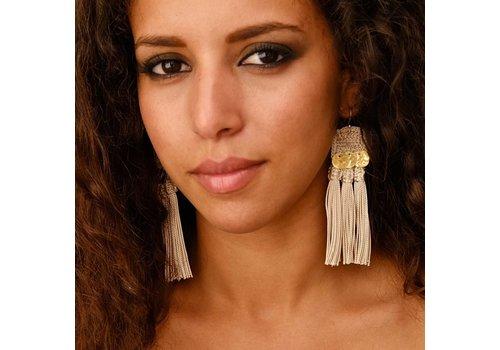 Hamimi Hamiri Handira Fringe Earrings