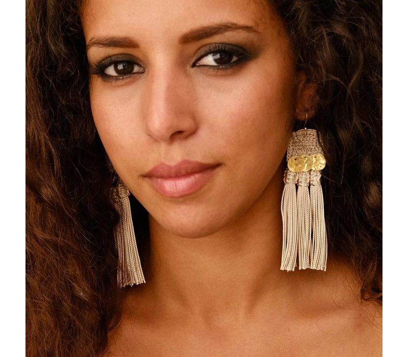Hamiri Handira Fringe Earrings