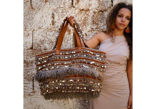 Hamimi Hamimi Khenifra Overnight Bag Cognac & Henna