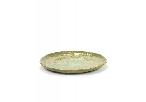 Serax Serax Plate Pascale Naessens - Sea Green