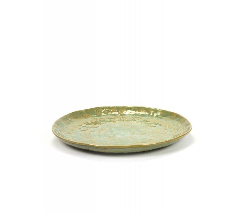 Serax Plate Pascale Naessens - Sea Green