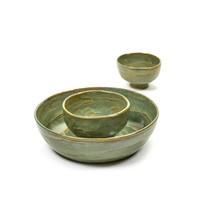 Serax Pascale Naessens salad bowl sea green small D20 H5
