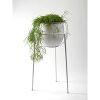 Serax plant stand cage wit incl pot